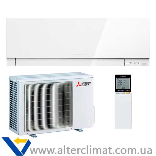 Кондиционер Mitsubishi Electric MSZ-EF25VE3(White)/MUZ-EF25V